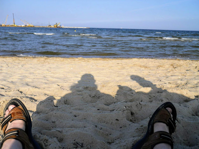 Things to do in Sopot: relax on the beach