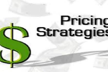 Defenisi dari Strategi Harga Secara Umum