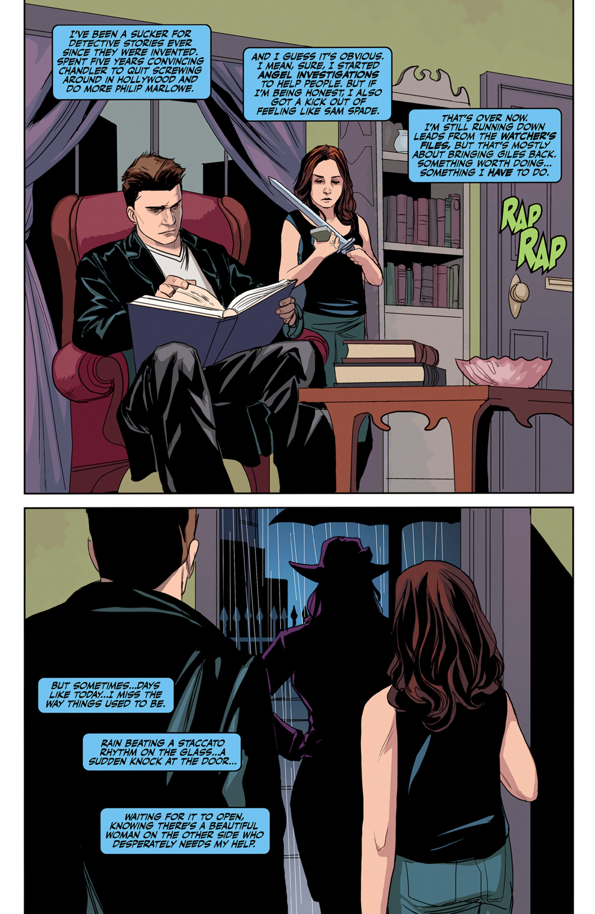 Read online Angel and Faith comic -  Issue #5 - 4