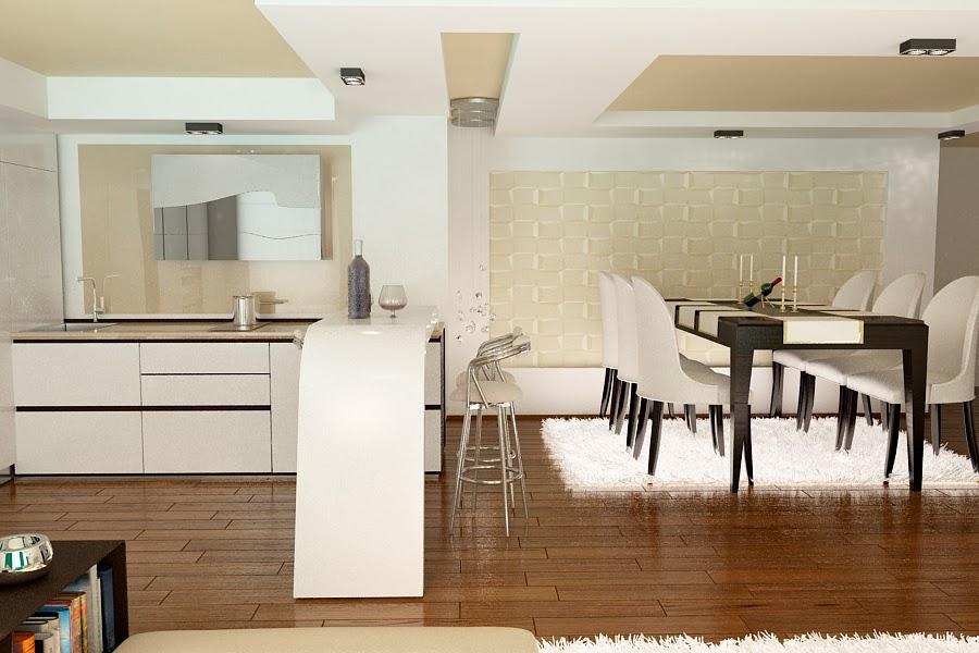 Design interior living apartament - Amenajari interioare casa Constanta