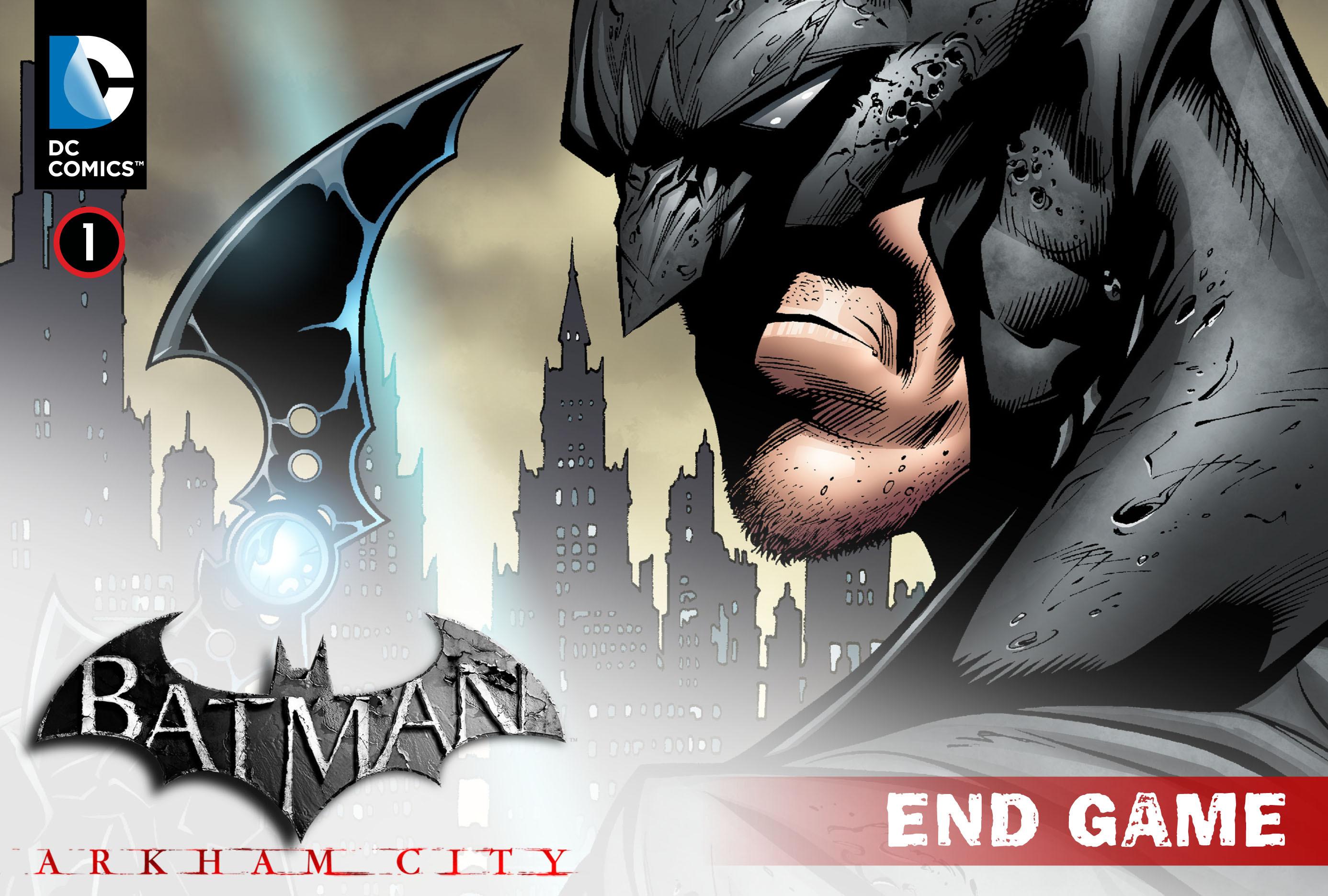 Batman: Arkham City: End Game 1 Page 1