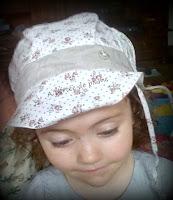 chapeau zoli réglable été soleil casquette bébé bambin enfant fille femme maman protéger