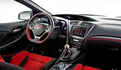 Hoda Civic Type R, interior