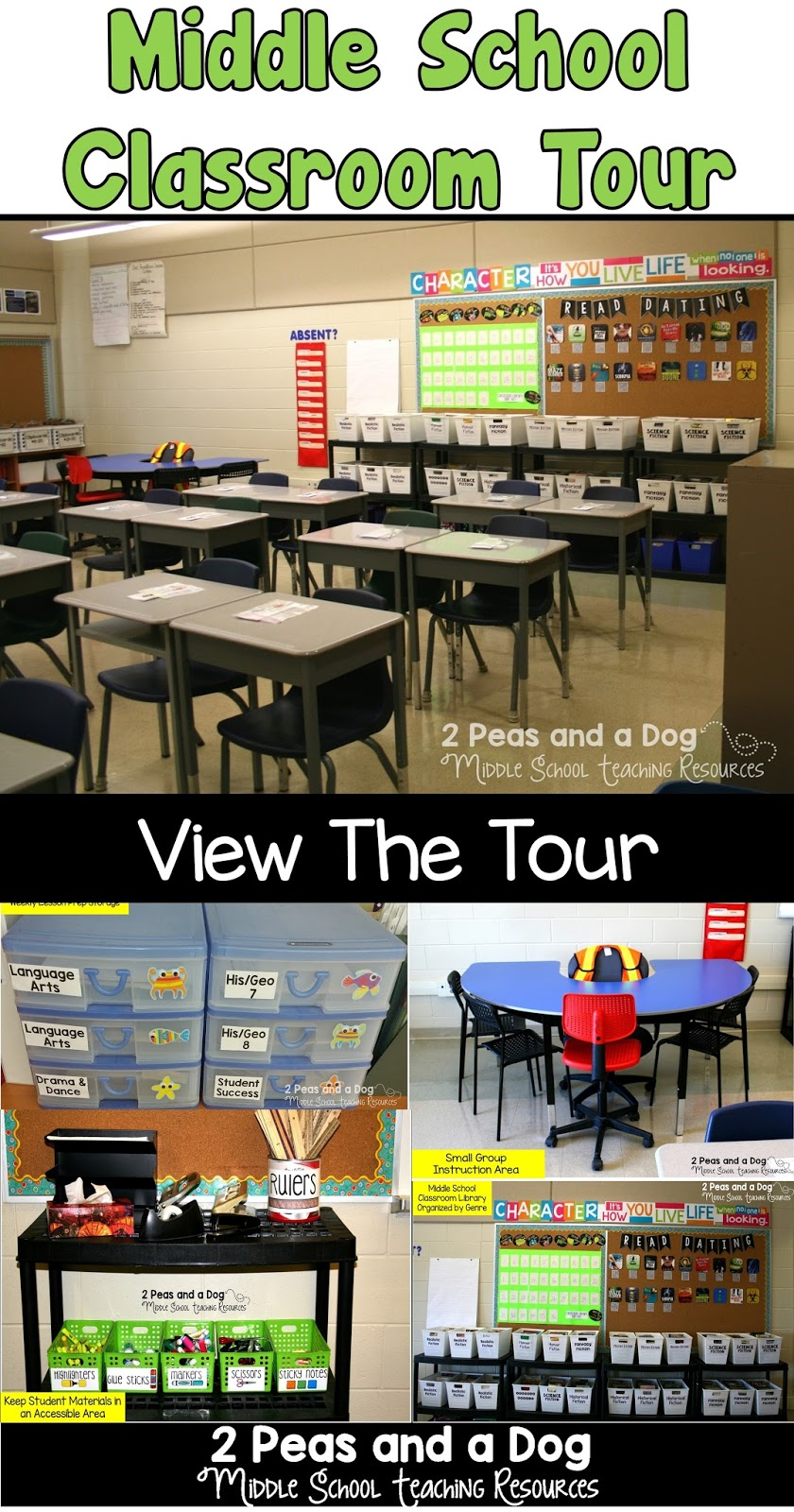 Classroom Setup Ideas For Middle School ~ Middle school classroom set up ideas peas and a dog