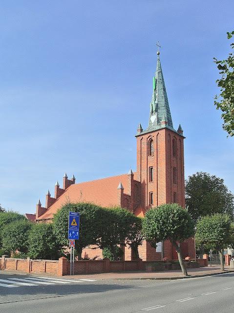 Kościół Rybacki w Kuźnicy, Polska, Morze Bałtyckie