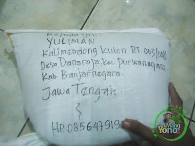 Benih padi TRISAKTI pesanan Yuliman (Kang Yuli)   Banjarnegara, Jateng