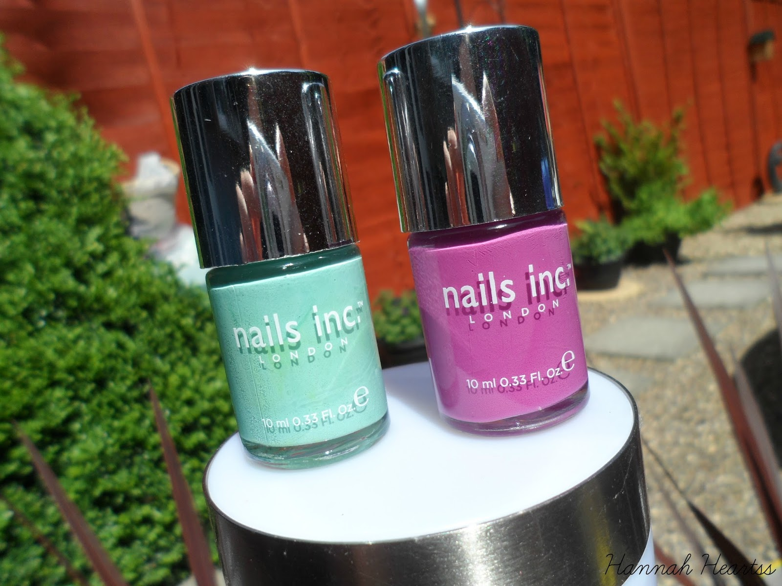 Nails inc Polishes