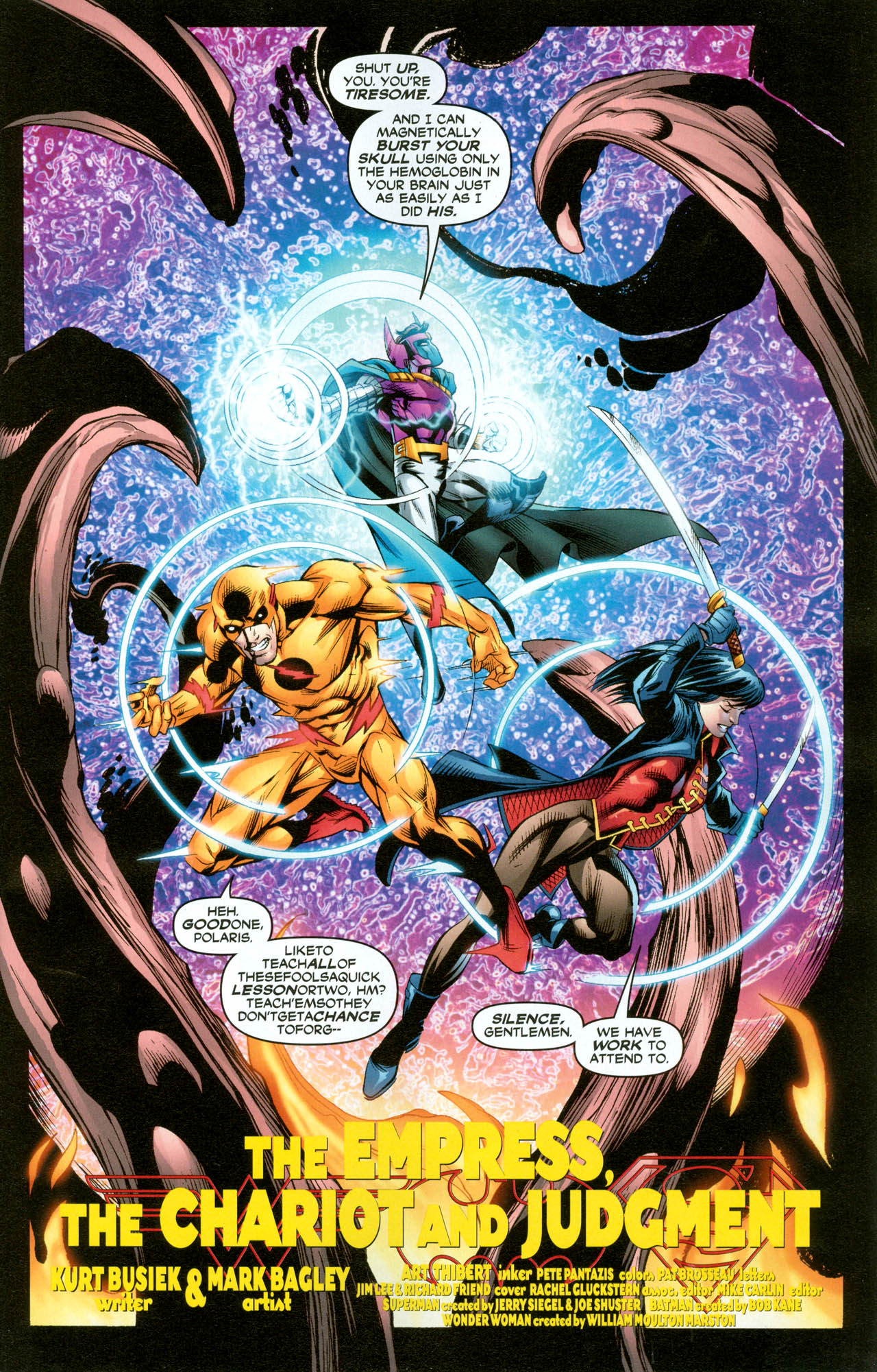 Read online Trinity (2008) comic -  Issue #31 - 5
