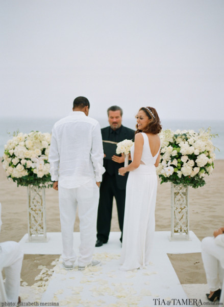 The Hardiwicts Renewed Their Vows On April 16 2017 In Malibu Ca