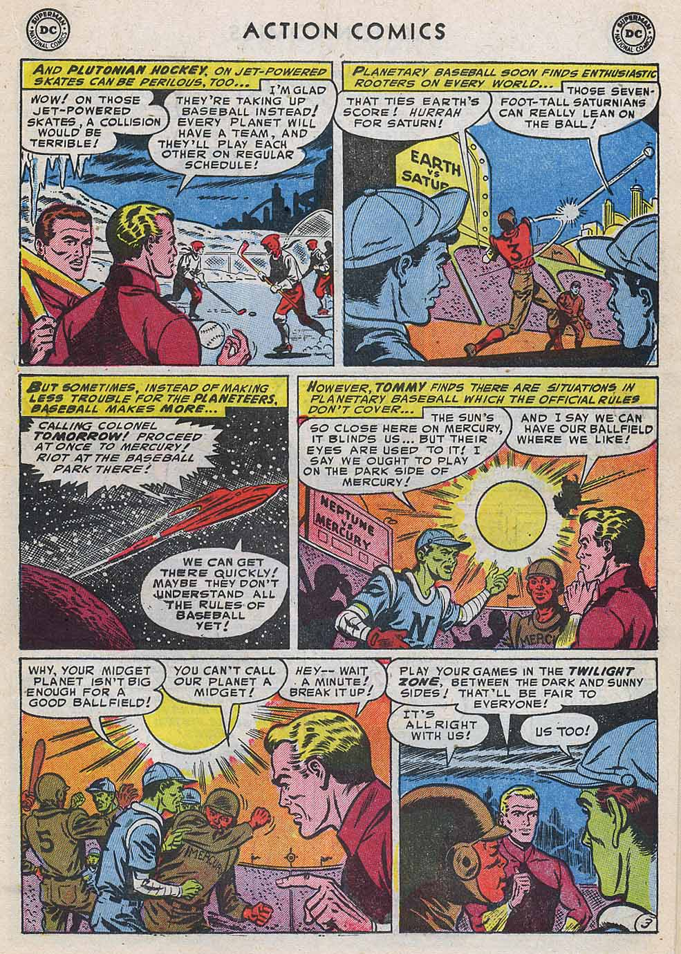 Read online Action Comics (1938) comic -  Issue #196 - 27