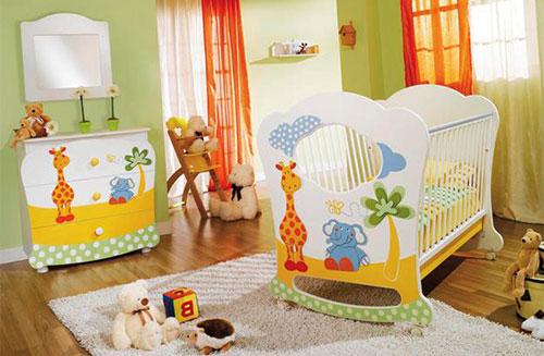 izolarea fonica camera bebe