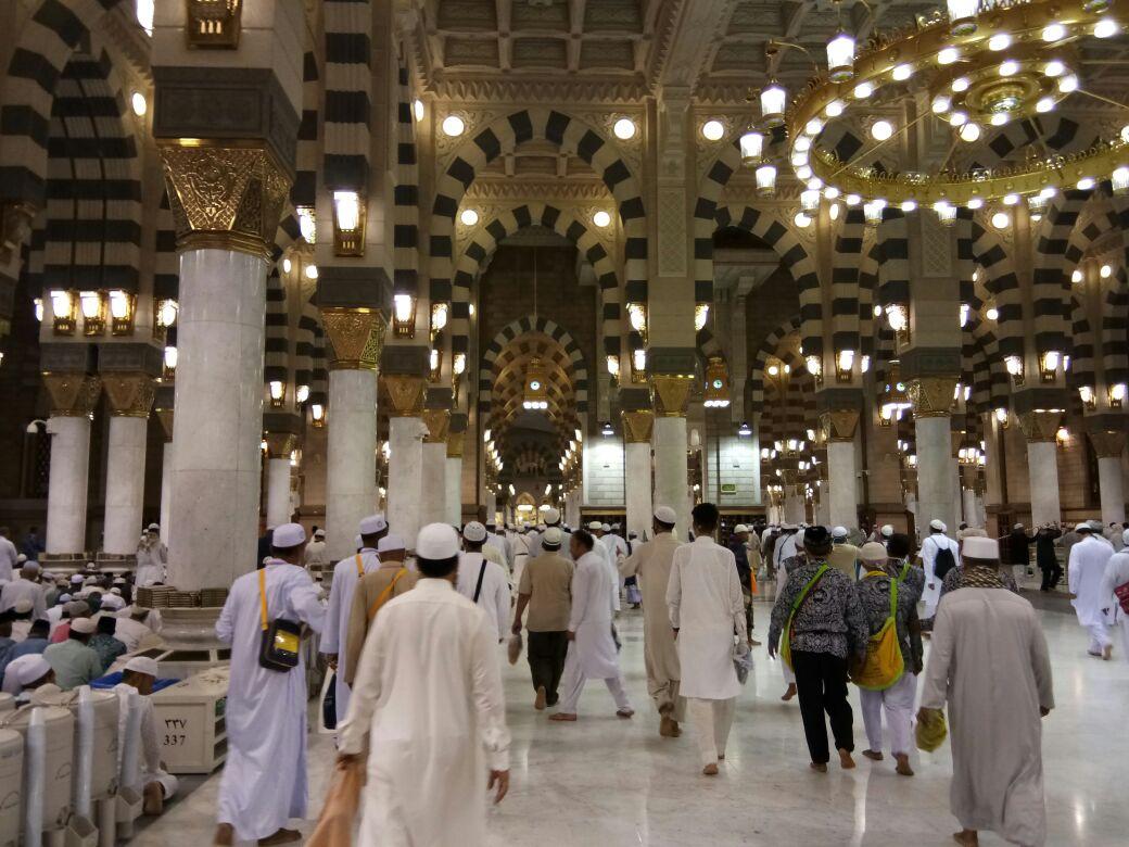 Jamaah Haji Perlu 'Perjuangan' Capai Raudhah - Dunia Komputer