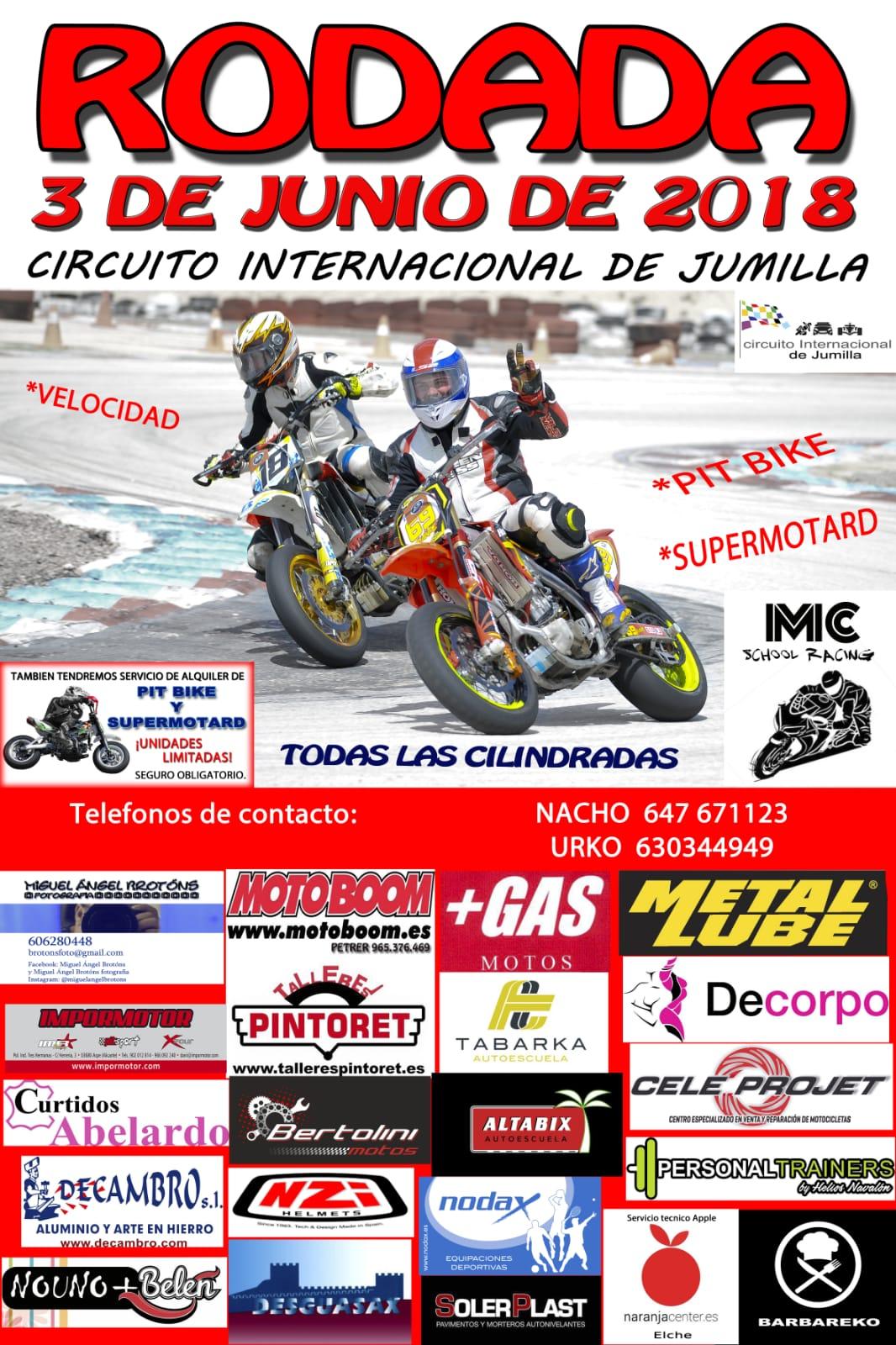 Circuito Jumilla : Gas motos: 3 de junio rodada motera en el circuito internacioanl de