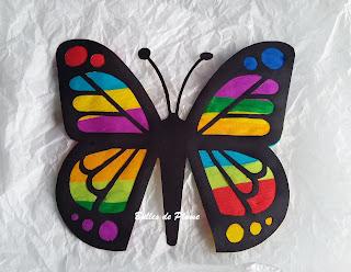 DIY Papillon attrape soleil