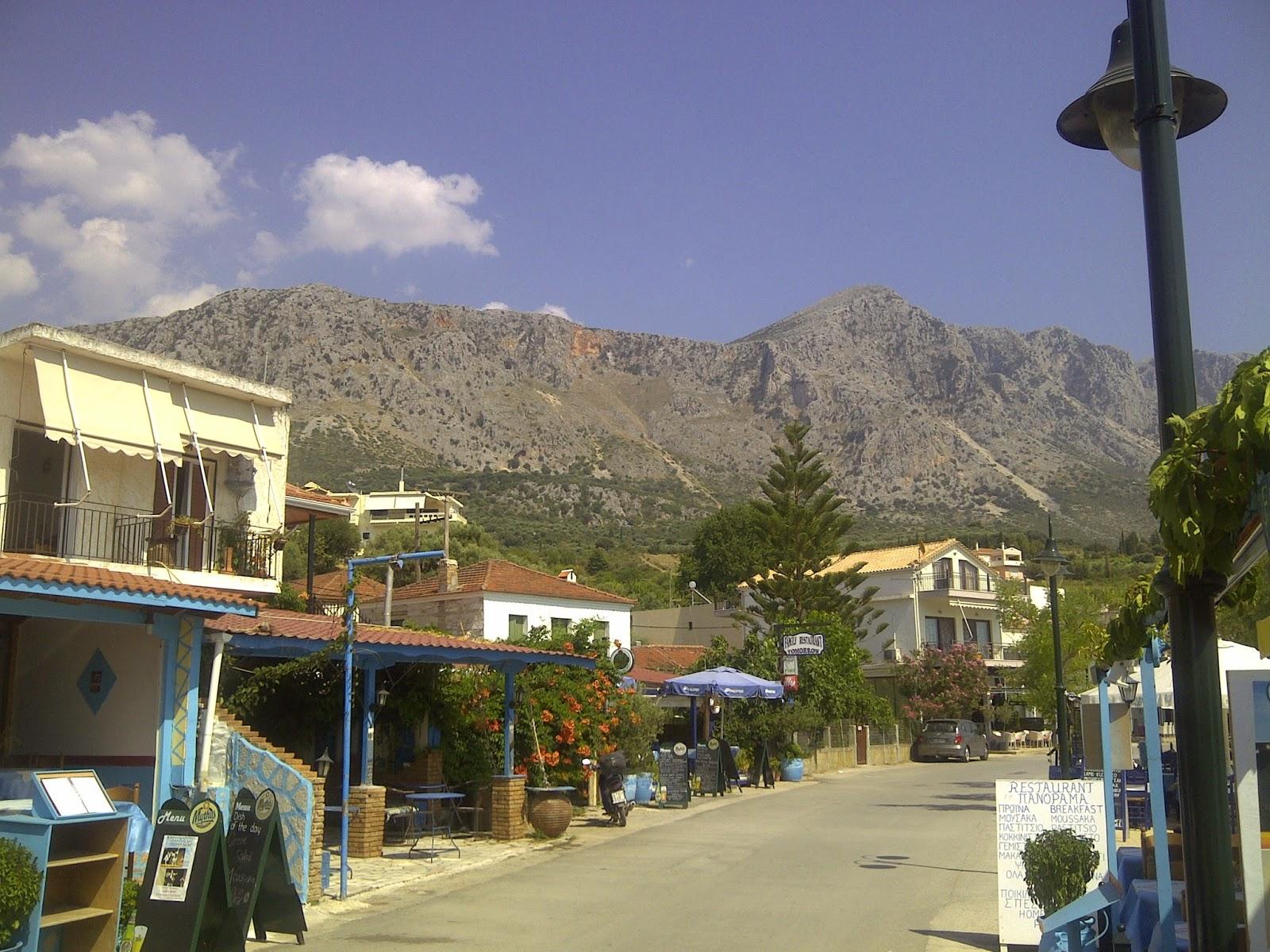 Greece mountain regions