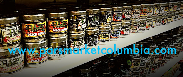Wide selection of a Haze Tobacco flavors at Pars Market Columbia Howard County Maryland 21045