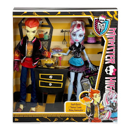 Monster High Heath Burns Classroom Doll