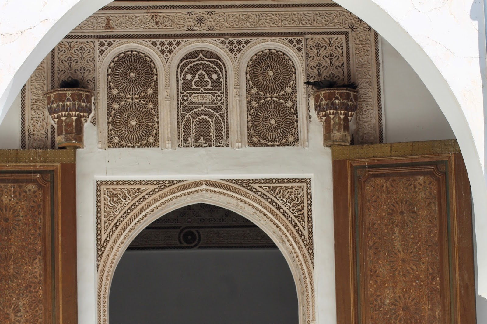 Detailed Architecture In Marrakech Morocco