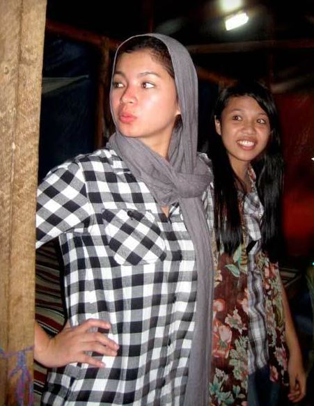 Throwback: When Angel  Locsin Visited the Lumads