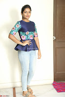 Eesha Looks super cute stunning in Denim Jeans and Top at Darsakudu movie Inerview ~  Exclusive 011.JPG