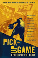book cover of Pickup Game edited by Marc Aronson and Charles R Smith Jr published by Candlewick
