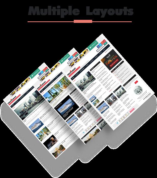 multiple blogger templates