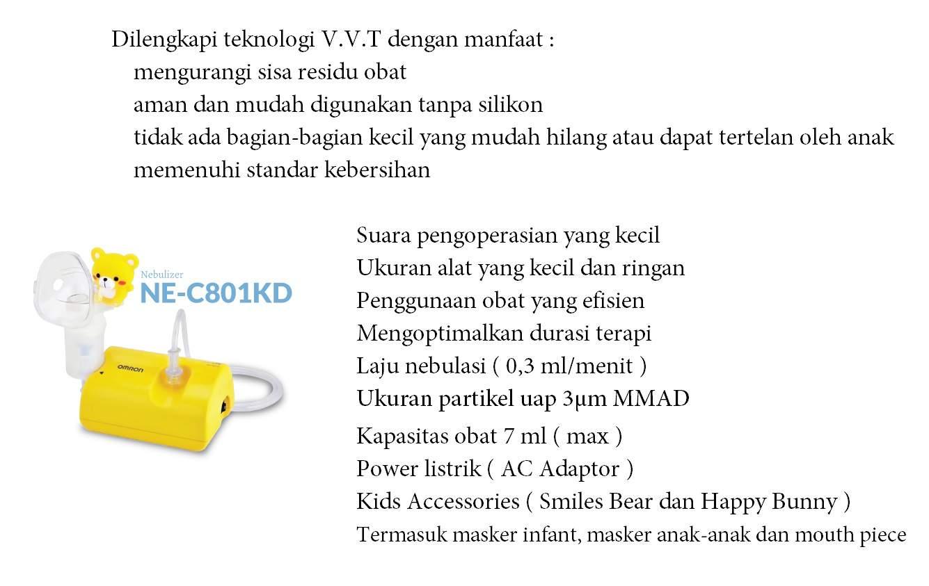 OMRON Nebulizer NE-C801KD