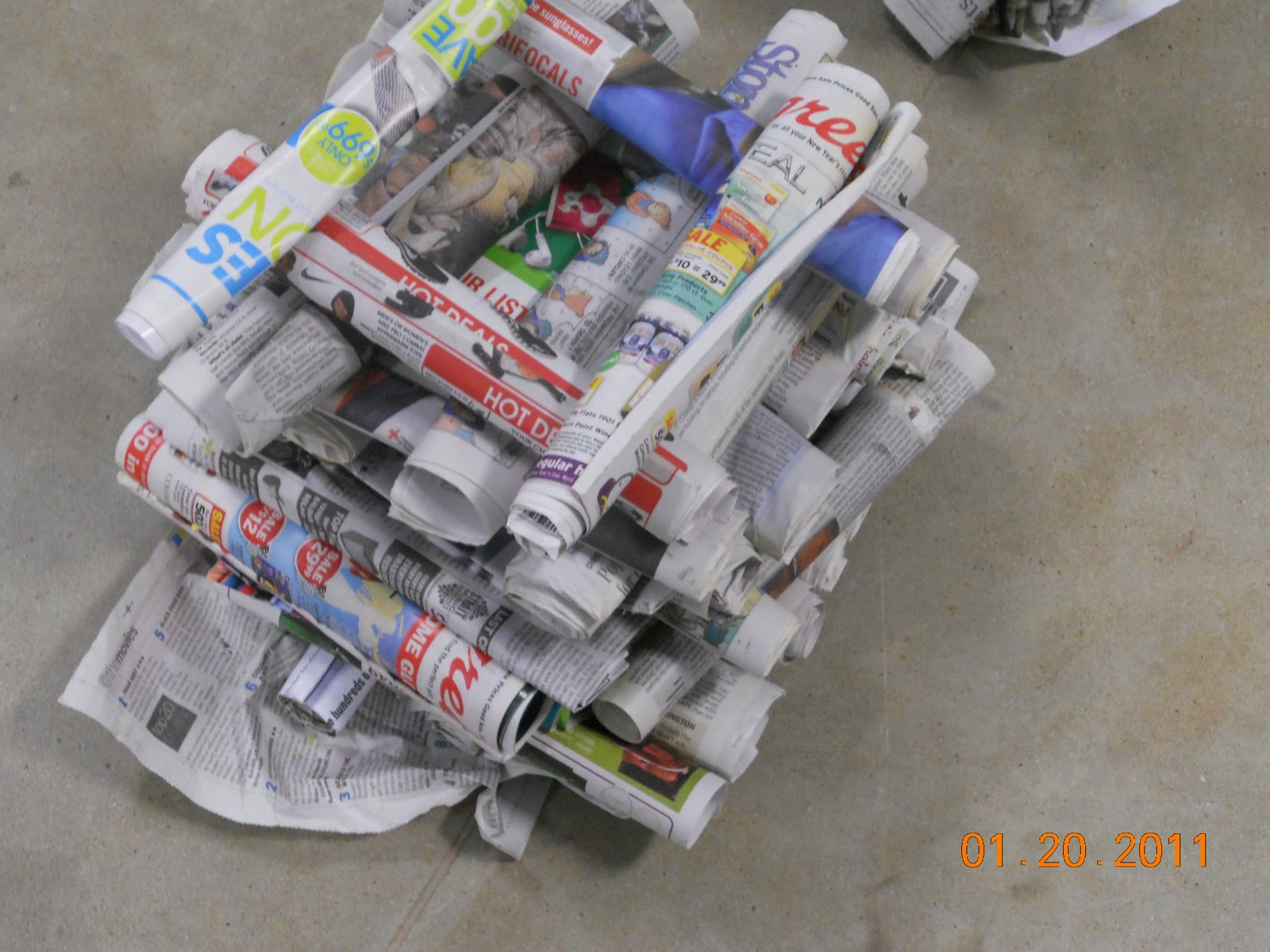 Newspaper Tower