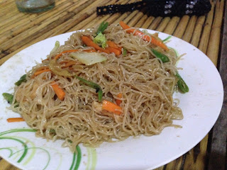 Pancit Bihon Guisado at Marites Homestay and Restaurant in Pagudpud