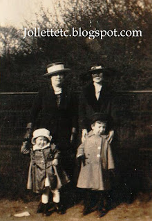 Relatives of Mary Theresa Sheehan Walsh 1921 New York http://jollettetc.blogspot.com
