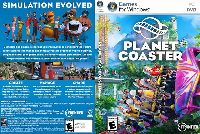 Capa Planet Coaster PC