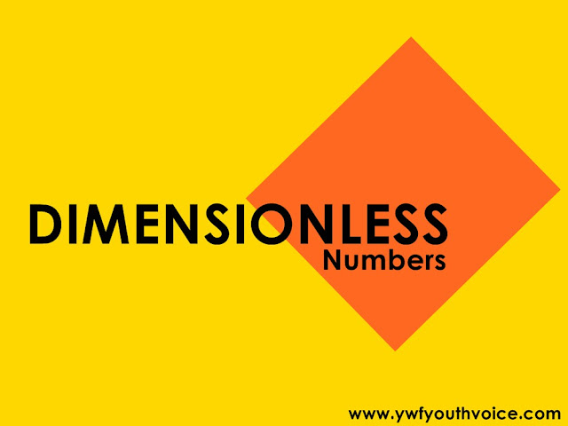 Dimensionless Numbers,Symbols Of Dimensionless Numbers, Formula of Dimensionless Numbers,Dimensionless Numbers Importance,Dimensionless Numbers Significance