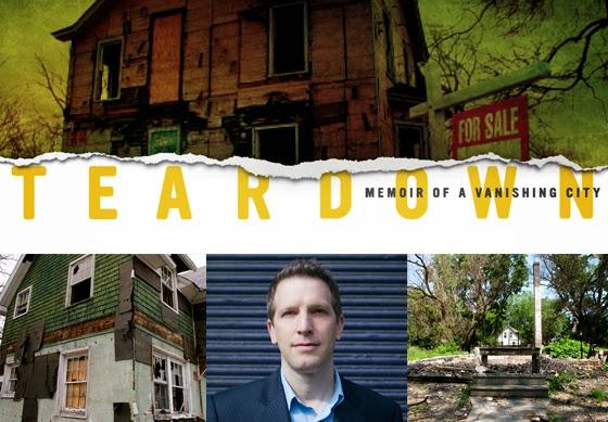 Flint Expatriates Teardown Memoir Of A Vanishing City By Gordon