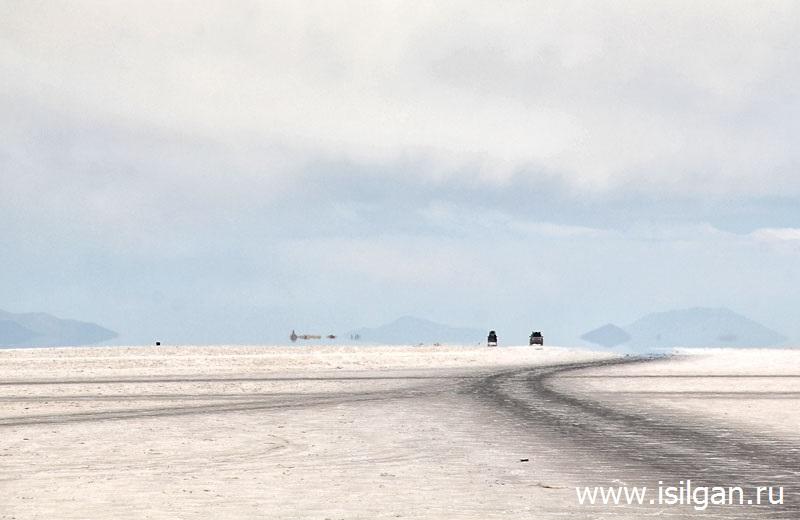 Солончак Уюни (Salar de Uyuni). Боливия