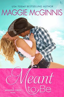 romance novel covers, contemporary romance, Meant to Be by Maggie McGinnis