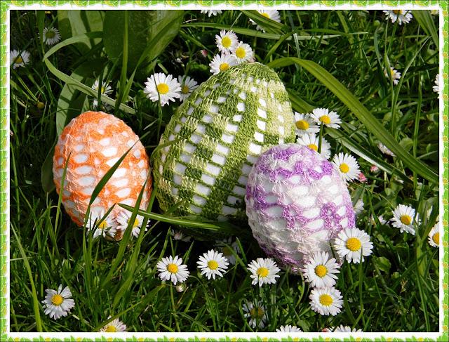 rękodzieło, wiosenna trawa, święta