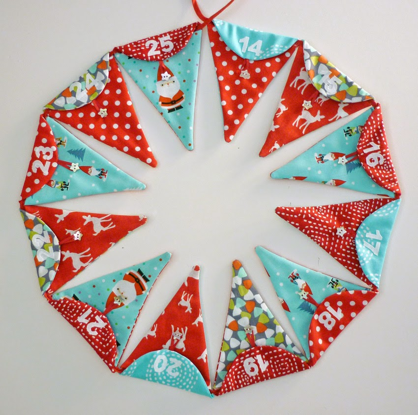 Mack And Mabel Advent Bunting Tutorial