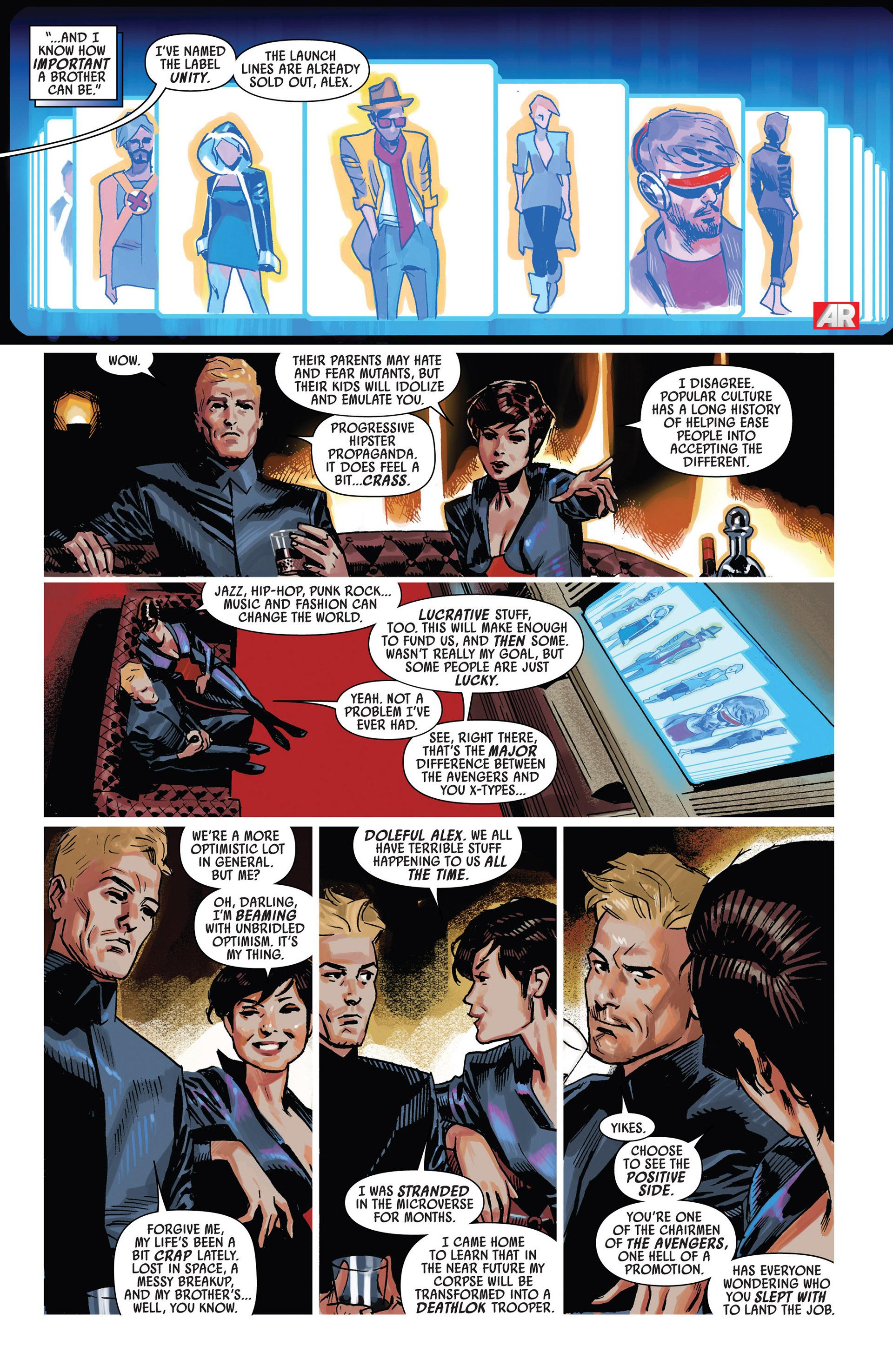 Read online Uncanny Avengers (2012) comic -  Issue #7 - 14