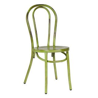 Silla Arco metal Verde Ardid