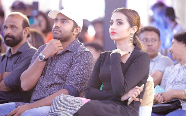 Trisha Krishnan Latest Pic In Black Dress