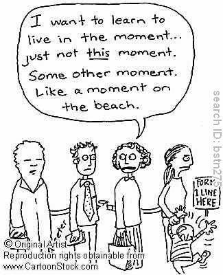 quiet mind meditation: Friday Meditation Humour