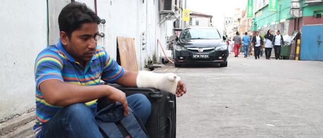 Lesion en el trabajo y delitos