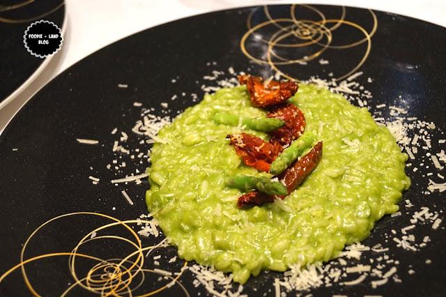 Roasted bellpepper & gorgonzola risotto@The Risotto Fare @ Ottimo   ITC Gardenia   Bangalore