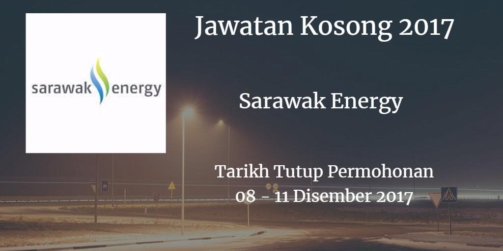 Jawatan Kosong Sarawak Energy  08 - 11 Disember 2017
