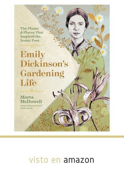 Portada libro Emily Dickinson's Gardening Life Vida como jardinera de la poeta