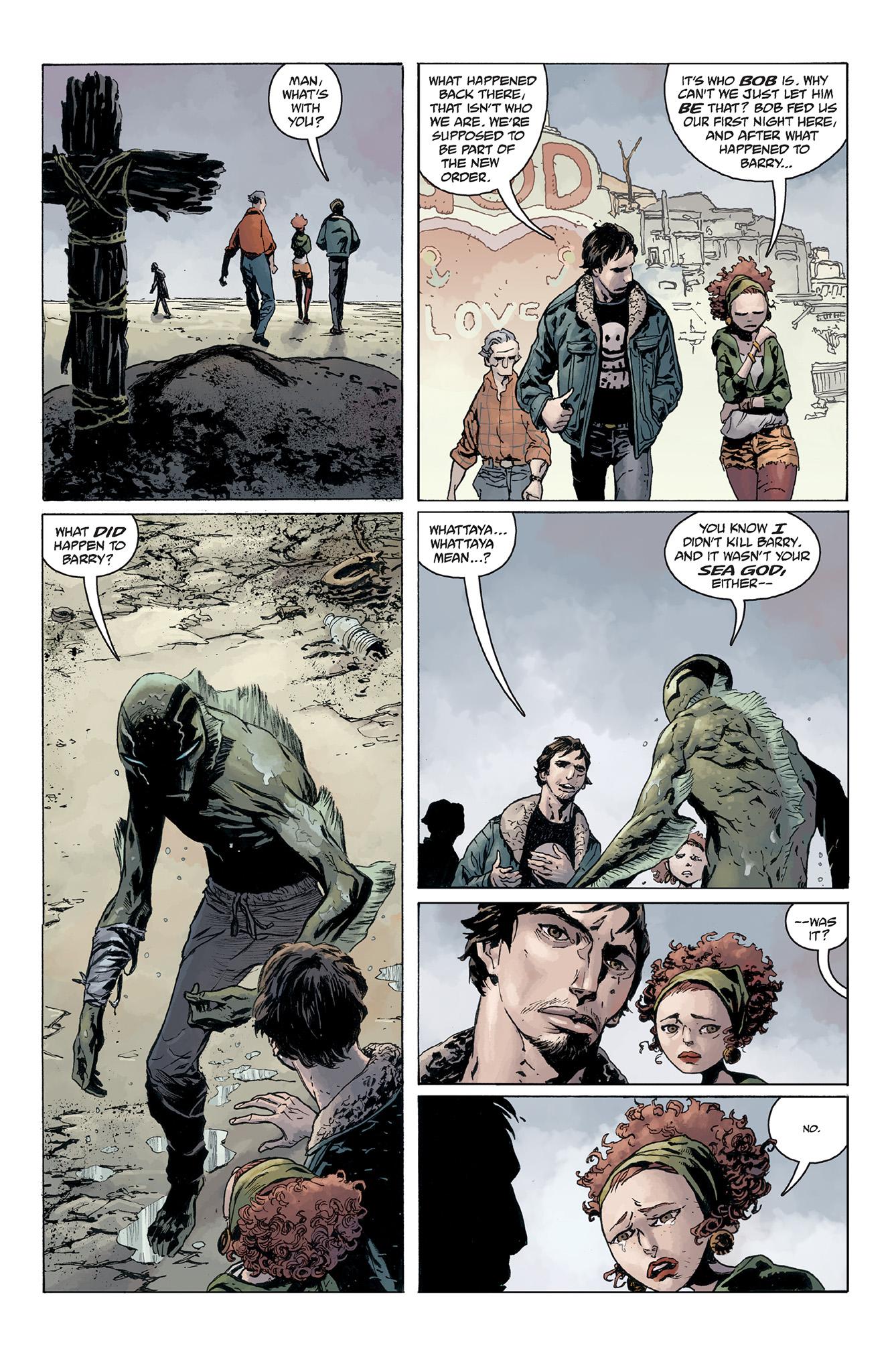 Read online Abe Sapien comic -  Issue #5 - 17
