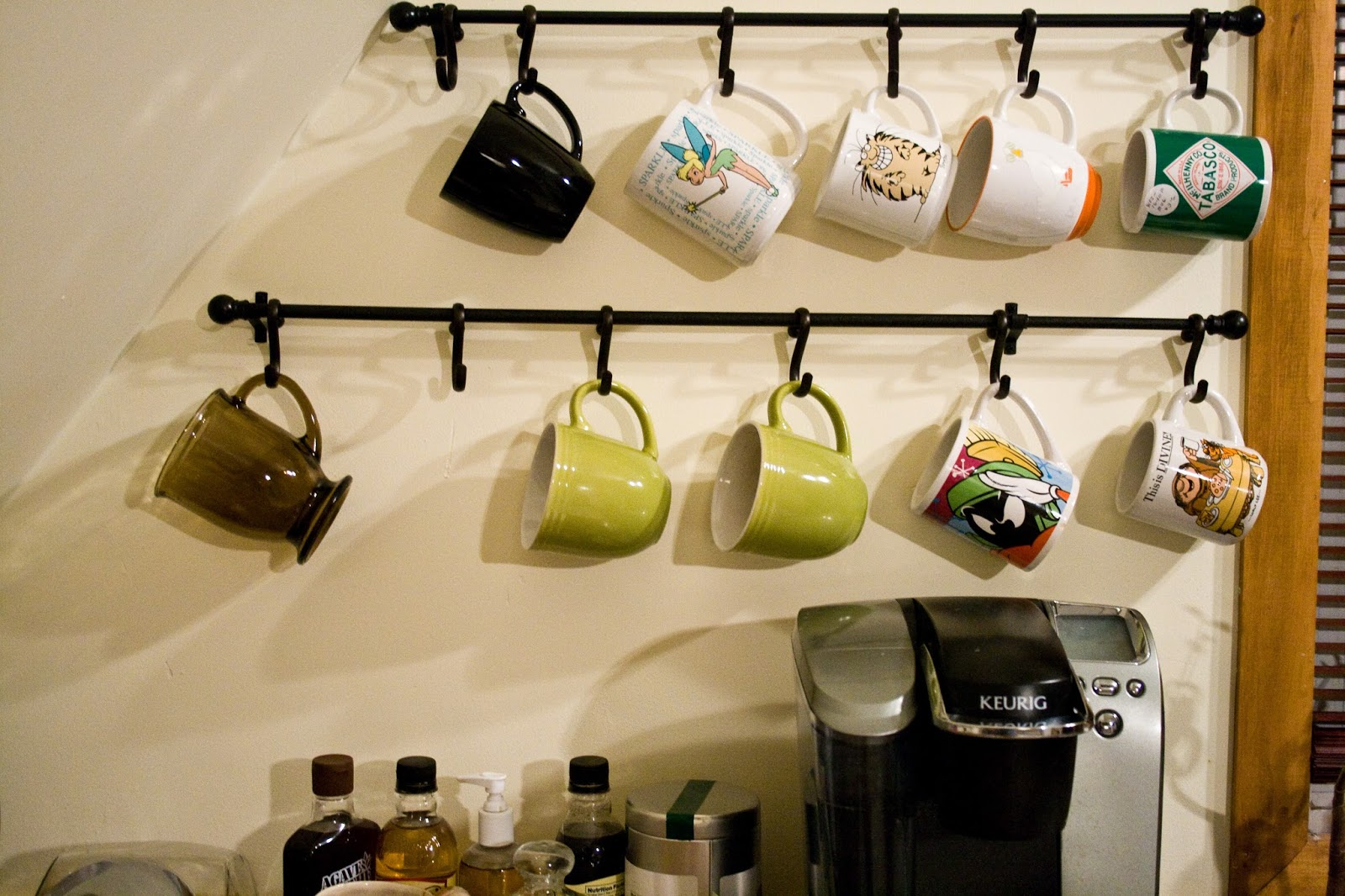 five sixteenths blog: Wednesday Decor // Three Ways to Use Shower Hooks to  Organize