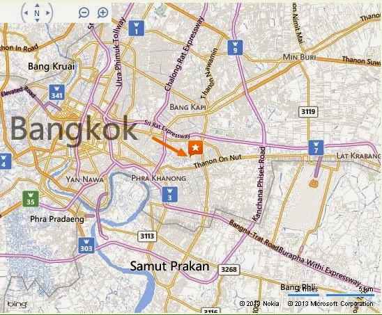 Patong Horror show Bangkok Location map,Location map of Patong Horror show Bangkok,Patong Horror show Bangkok accommodation destinations attractions hotels map reviews photos