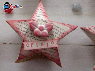 Scatolina Stella Origami