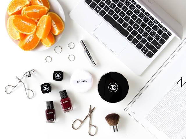 chanel kosmetika nákupy